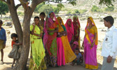 Rajasthani ladies on the ride
